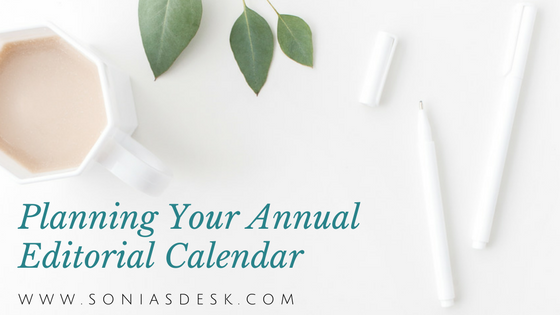 Planning Your Annual Editorial Calendar