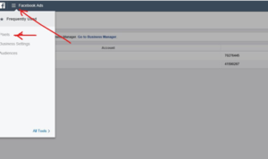 Ads Manager Page